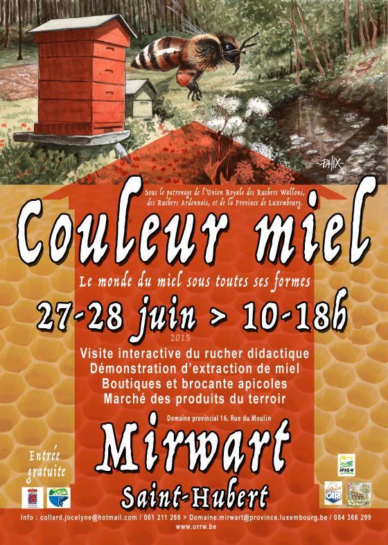 Couleur miel 2015 Mirwart