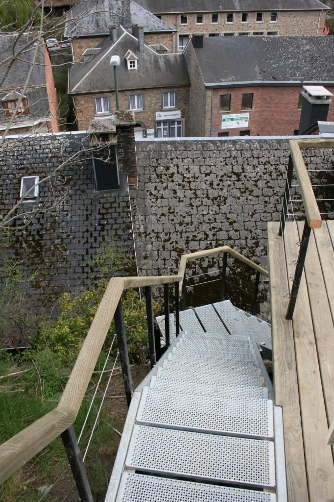 Terrasse en hauteur à La Roche-en-Ardenne
